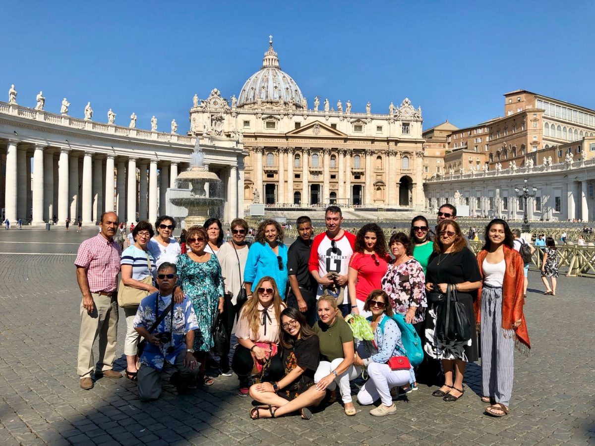 "Israele & Giordania & Roma, luglio 2018 – Gruppo ""ST GREGORY CHURCH"" – USA"