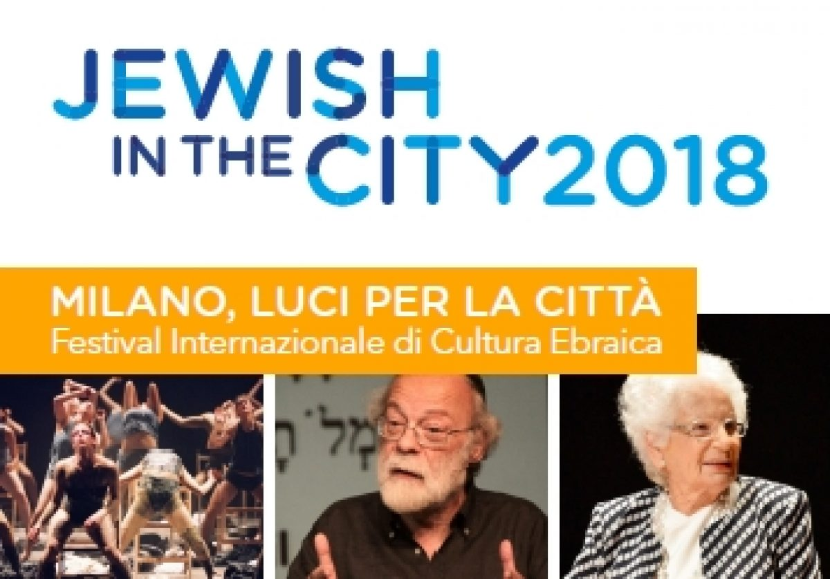 JEWISH in the CITY 2018, festival Internazionale di Cultura Ebraica, 01-03 dicembre 2018